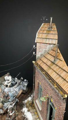Lead Adventure, Model Tanks, Military Diorama, Nightmare On Elm Street, World War Ii, Scale Models, Vignettes, German, Projects