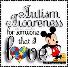 Mickey Autism Awareness