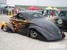 Willys ,slammed ,blown, flamed .As it should be.