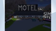 Check out this lot in The Sims 4 Gallery! - SIMS Motel is open for business. Free TV, Free WIFI, Best prices In Town! #NOCC #MOO #motel #hotel #office #vacancy #business #work #gettowork #retail #job #batesmotel #sexy #celebrity #cute