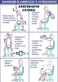 #TipsLaborales - Ergonomía Laboral, algunos ejercicios que beneficiaran tu rendimiento.