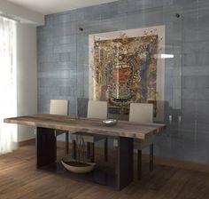 Interior design and visualisation by lilit Hayrapetyan, via Behance