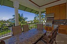 This Kolea Penthouse looks directly on the famous Kolea Beach Club.