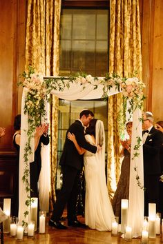 Fall Pratt House Wedding - Photos by Tawni Lee Weddings / Invitations by Fourteen-Forty #1440nyc #fourteenforty #goldfoil #blush #invitations