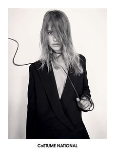 02 FW13 14 WOM Costume National Taps Julia Frauche for Fall 2013 Ads by Glen Lunchford