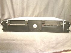Dell PowerVault 114T 2U With 2X DLT VS160 Tape Back-Up Drives (2)