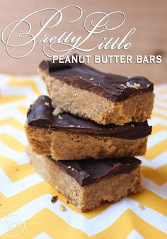 Watch Pretty Little Liars tonight and whip up a batch of Pretty Little Peanut Butter Bars #BigAReveal #PrettyLittleLiars