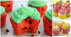 Tanto Alguma Coisa: 12 cupcakes para deixar qualquer festa mais colori...