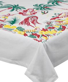 Look what I found on #zulily! 'Lovely Oahu' Tablecloth #zulilyfinds