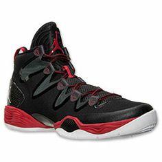 Men's Air Jordan XX8 SE Basketball Shoes| FinishLine.com | Black/White/Anthracite/Gym Red