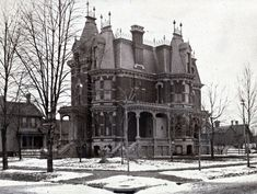 https://flic.kr/p/7mJpKz   C. W. Moore   134 Alexandrine W.  Just north of Brush Park, deep in the heart of Paris of the Midwest, Detroit.