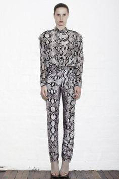 Sara Phillips Hercule Snake Long Sleeve Shirt
