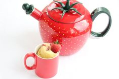 Strawberry Mug Cake:  16 1/2 tablespoons all-purpose flour  12 tablespoons sugar  1/4 +1/8 teaspoon baking powder  3 egg 9 tablespoons milk  9 tablespoons oil  To make it a full size cake, I also added walnuts, very delicious, my husband's favorite