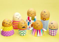 Easter egg decorating ideas for kids at Mr Printables via Cool Mom Picks