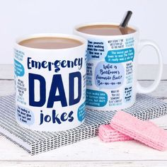 Taza divertida: Emergencia chistes de Papá por WeArePaperPlane