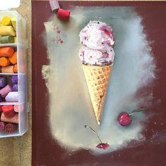 1,058 отметок «Нравится», 60 комментариев — Catarina Cardi, Москва (@catarinacardi) в Instagram: «Лето.. жара...☀️ #pastel #пастель #catarinacardi_pastels»