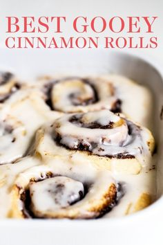 Gooey Cinnamon Rolls Recipe, Bread Machine Cinnamon Rolls, Best Cinnamon Roll Recipe, Blueberry Cinnamon Rolls, Quick Cinnamon Rolls, Cinnamon Rolls From Scratch, Cinnamon Roll Icing, Cinnabon Cinnamon Rolls, Cinnamon Roll Casserole