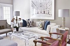 South Shore Decorating Blog: LIVING ROOM LOVE