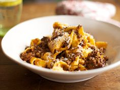 Papardelle with Rich Ragu Recipe - Michela Chiappa - Simply Italian