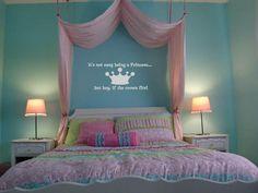 Si-la-corona-se-ajusta-a-la-Princesa-De-Vinilo-El-Arte-De-Pared-Autoadhesiva-De-Chica-dormitorio