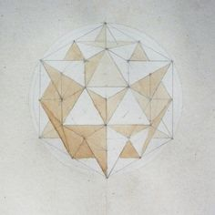 """""""Pyramyds""""  Sub divided Stellated Cuboctahedron"""