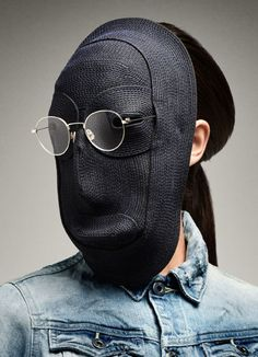 G-Star RAW Eyewear, 2014. Mask by Dutch designer Bertjan Pot. .°