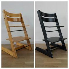 Stokke Tripp Trapp Kinderstoel Make over, Verven, Schilderen