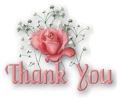 beautiful thank you glitter graphics