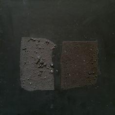 dark black over black