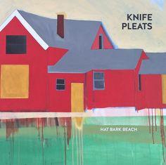 """Knife Pleats """"Hat Bark Beach"""" Vinyl LP / Cassette PRE-ORDER"""