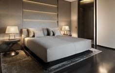 Bedroom @ Armani Hotel Milano
