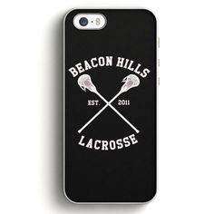 Beacon Hills Cyclones Teen Wolf White iPhone SE Case   Aneend