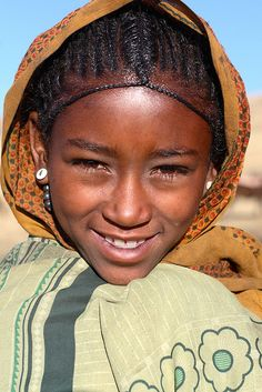 Face from Ethiopia