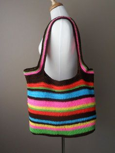 bolsa de crochê inspiração3                                                                                                                                                                                 Mais