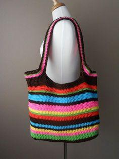 Bag Lady Pinspiration!. bolsa de crochê inspiração ☀CQ #crochet #bags #totes