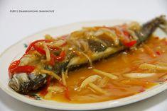 Fish Escabeche – Filipino Foods And Recipes Fish Recipe Filipino, Filipino Dishes, Filipino Recipes, Filipino Food, Pinoy Recipe, Fish Escabeche, Escabeche Recipe, Fish Recipes, Asian Recipes