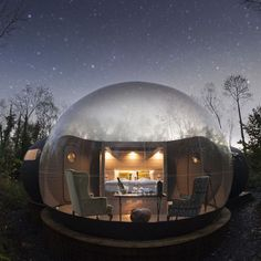 Bubble at Finn Lough Resort in Northern Ireland.