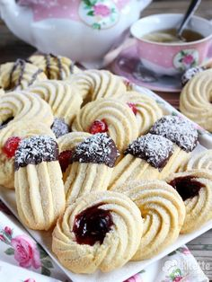 Cheap Hobbies For Men Product Italian Cookies, Italian Desserts, Mini Desserts, Sweets Recipes, Cookie Recipes, Biscotti Cookies, Spritz Cookies, Almond Bread, Nutella Cake