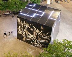 Cubo fotovoltaico e-QBO Milano 3