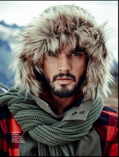 Top model Marlon Teixeira lives the rugged life for an outdoor shoot featured for the fifth cover story from L'Officiel Hommes Brazil. Marlon sports a beard and… Marlon Teixeira, Male Model Names, Male Models, Male Fashion Trends, Men's Fashion, Fashion Tape, Fashion Editorials, Man Photography, Wilhelmina Models