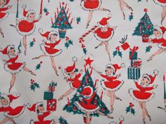 1950's Christmas Paper | Flickr - Photo Sharing!