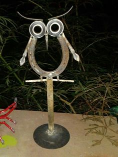 Horseshoe Owl - from Cold Chinese: by Amber Jahnke... you can find more of our work on facebook.