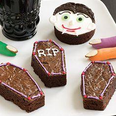 Bewitching Brownies - fun last-minute spooky snack idea