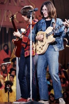 John Lennon & Eric Clapton (The Rolling Stones Rock and Roll Circus
