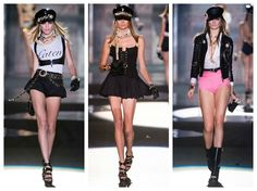 Crafty Lady Abby: MILAN FASHION WEEK: Dsquared²