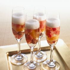 Watermelon Champagne -low calorie drinks