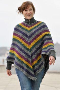 Her får du 28 fantastiske strikkeopskrifter, du selv kan strikke og hækle dig en poncho