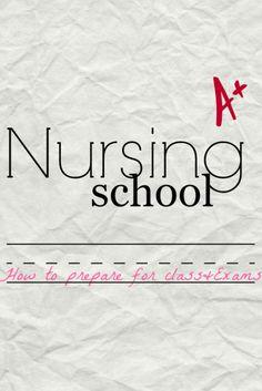 Nursing Student Study Tips