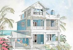 Double Vison Plan SL    House Plans   Pinterest   Beach    Family Cental Plan SL