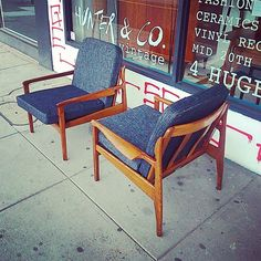Pair Fler Narvik Lowback Armchairs Instore Now, please sms or dm for enquiries 0432347419.
